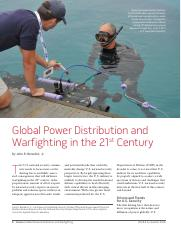 Global Power Distribution and Warfighting in the 21st Century.pdf