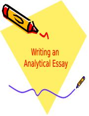 Writing-an-Analytical-Essay-PPT
