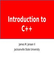 C++ Lecture 01 - Introduction to C++.pptx