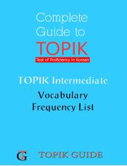 TOPIK Intermediate Vocabulary Frequency List.pdf
