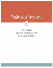 22c Waste water treatment - Canvas