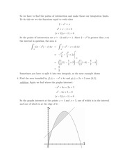 MATH 110 Equilibrium Points Notes