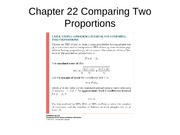 Chapter 22 and 23