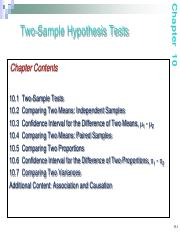Notes09 Two-sample tests - Copy