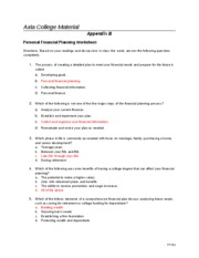 Appendix_B personal financial planning worksheet