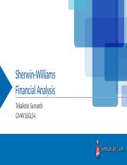 Sherwin williams ppt