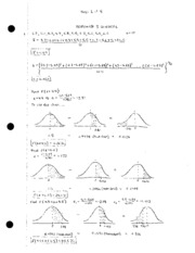 HW 3 Solutions REVISED