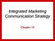 marketing ch 15