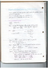Integration of Partial Fractions Notes