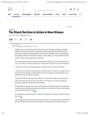 Klein, N (2007). The Shock Doctrine in Action in New Orleans (1).pdf