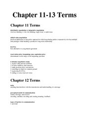 11-13 Terms
