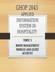 Ch 5 Rooms Management Module.ppt