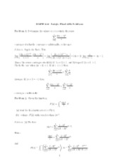 Math 262 Sample Final (2)