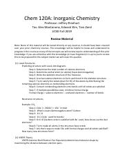 Review Material Chem 120A Fa19.pdf