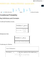 PSTATW 120A - M16: Conditional Probability: Key Definitions and Concepts.pdf