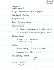 class notes of chapter 3 3-1