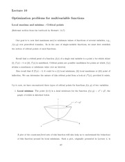 physics MATH 227 Week 4 Notes