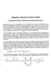 Friedel-Crafts Acetylation Fall 2010