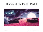 13 History of the Earth, Part 1
