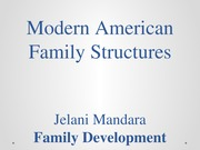 Modern American Family Structures(1)