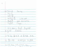 Exam 1 Solution on Electromagnetism