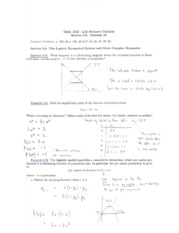 Math 1215 Lecture Notes October 18