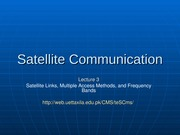 Satellite Communication - 3