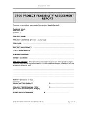 3T08 Project Feasibility Assessment Report  v4-0.doc