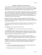 individual assignment 2 instructions This creating blended assignment instructions document is part of the blended learning toolkit prepared by the university of central florida (ucf) and the american  • level of group participation (individual assignments, group or team projects, and entire class projects.