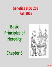 Lecture #3&4 Fall 2016- Chapter 3- Mendelian Inheritance.pptx