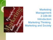 IntroductionMarketing,Thinking,Societyve(useinclass)