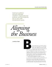 alighing the business .pdf