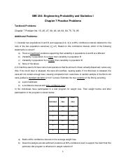 Practice Problems Chapter 7