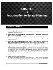 01 SM - What is Estate Planning