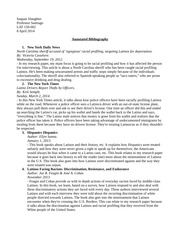 LAT150-Annotated Bibliography