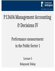 MAD_lecture 5 Public Sector Performance Measurement.ppt