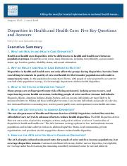 Issue-Brief-Disparities-in-Health-and-Health-Care-Five-Key-Questions-and-Answers