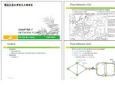 Chapter 7 Network flow