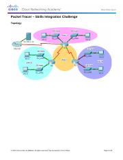 Packet Tracer - Skills Integration Challenge.docx