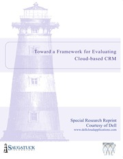 Toward a Framework for Evaluating Cloud-based CRM
