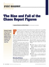 The rise and Fall of Chaos report Figures