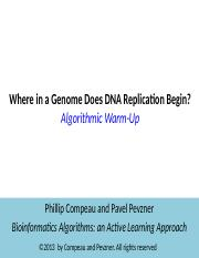 Where in the genome does DNA replication begin.pptx
