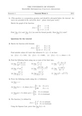 Tutorial 5 Answers