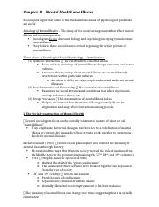 SPT Chapter 8 Notes