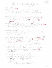 Calculus Product Rule Homweork and Answers