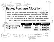Worksheet 14-18 Solutions (Baket Purchase, Long Term Assets, Contingent Liabilities, Warranty)