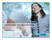 8_Governance and Organisation