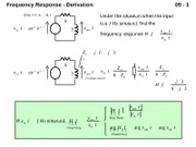 09 Frequency Response