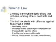 Criminal Law (Chapter 6)