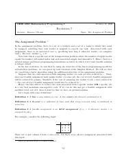 The Assignment Problem.pdf